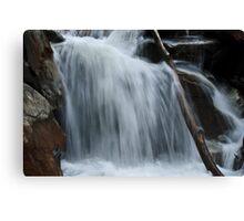 WaterFall @ Valley of Flower Trek Canvas Print