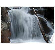 WaterFall @ Valley of Flower Trek Poster