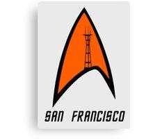 San Francisco Sutro Trek Canvas Print