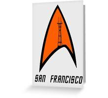 San Francisco Sutro Trek Greeting Card
