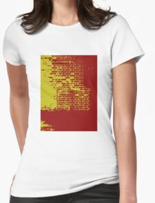 The only way to Hogwarts (Gryffindor) Womens Fitted T-Shirt