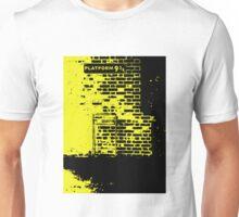 The way to Hogwarts. (Hufflepuff) Unisex T-Shirt