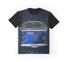 Volkswagen Blue combi illustration Graphic T-Shirt