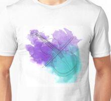 watercolor violin  Unisex T-Shirt