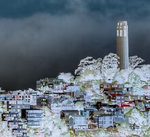 Coit Tower Surreal by Diego  Re