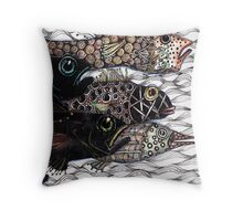 Escape the hook Throw Pillow