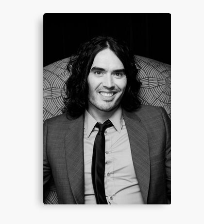 Russell Brand - comedian - actor - superstar Canvas Print