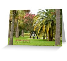 Liberty Bell Replica  LA State Capital Grounds Greeting Card