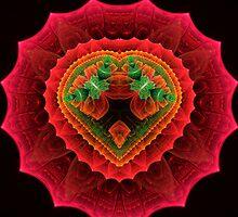 Red Velvet Heart by Pam Amos