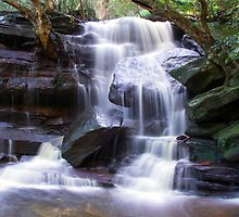 Somersby Falls  Central Coast by Doug Cliff