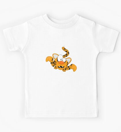 Cartoon tiger Kids Tee