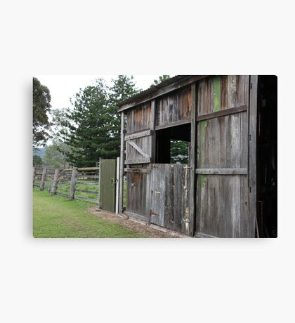 The Old Stables Canvas Print