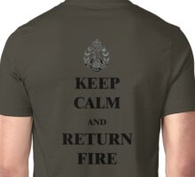 Keep Clam & Return Fire Unisex T-Shirt