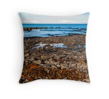The Seaweed Line. Throw Pillow