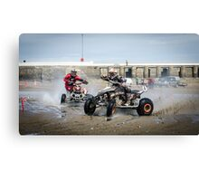 Beach Racing Canvas Print