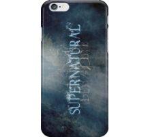 Supernatural - Title Card iPhone Case/Skin