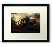 Night Train Framed Print