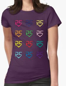 R5 Colorful Womens Fitted T-Shirt