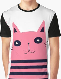 Dreaming Kitty Graphic T-Shirt