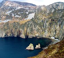 Slieve League, Ireland by Ludwig Wagner
