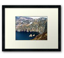 Slieve League, Ireland Framed Print