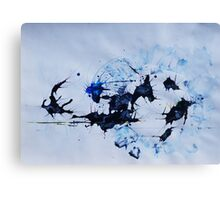 Soccer Ball during pro Punching  Canvas Print