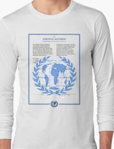 THE SOKOVIA ACCORDS Long Sleeve T-Shirt