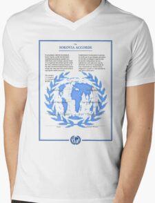 THE SOKOVIA ACCORDS Mens V-Neck T-Shirt