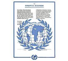 THE SOKOVIA ACCORDS Photographic Print