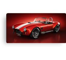 Shelby Cobra 427 - Bloodshot Canvas Print