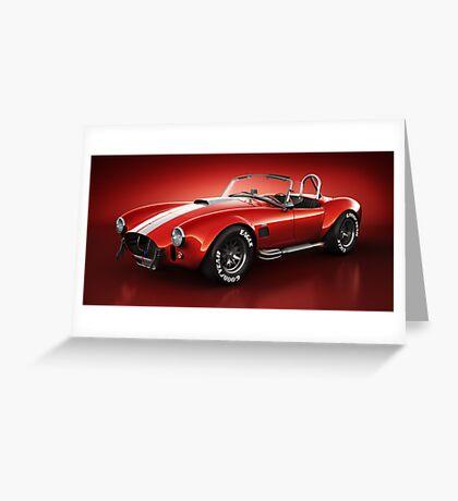 Shelby Cobra 427 - Bloodshot Greeting Card