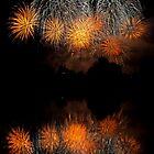 Fireworks Reflection by Monika Nakládalová