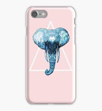 Pastel Pink Elephant Case iPhone Case/Skin