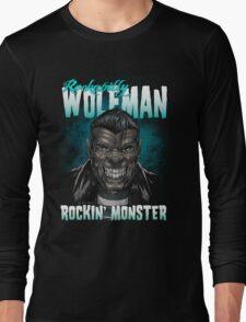 Rockabilly Wolfman Long Sleeve T-Shirt
