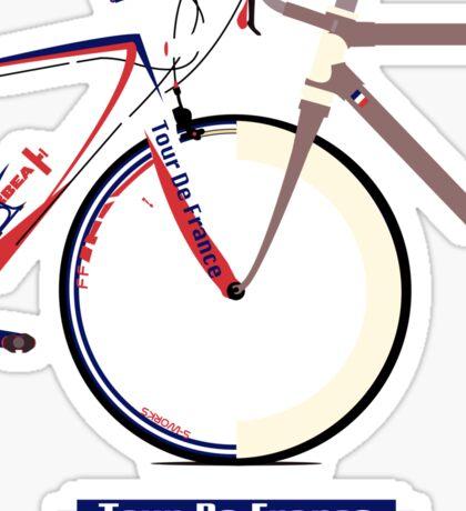 Tour De France Bike Sticker