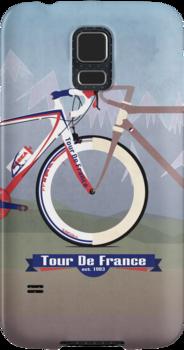 Tour De France Bike by Andy Scullion