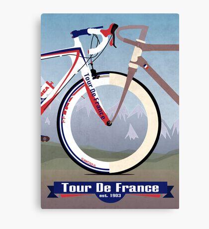 Tour De France Bike Canvas Print