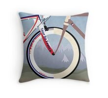 Tour De France Bike Throw Pillow