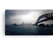 Cold Grey Morning Canvas Print