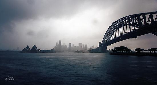 Cold Grey Morning by yolanda