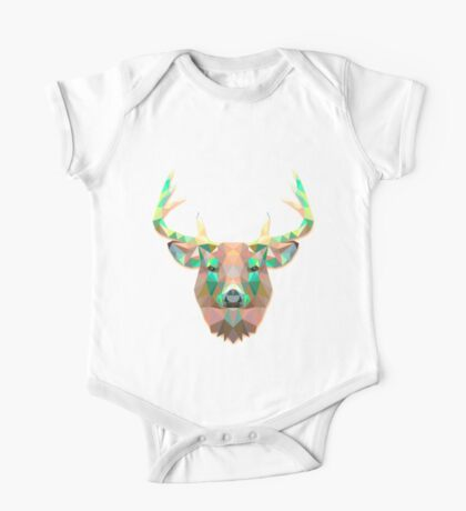 Deer Animals Gift One Piece - Short Sleeve