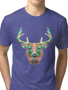 Deer Animals Gift Tri-blend T-Shirt