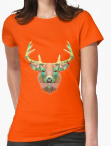 Deer Animals Gift Womens Fitted T-Shirt