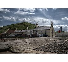 Ship Inn & Cottages Photographic Print