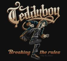Teddyboy Breaking the rules by NanoBarbero