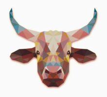 Bull Animals Gift One Piece - Short Sleeve