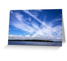 We Paint The Sky Greeting Card