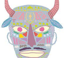 Mask no. 1 by Alessandro Bonaccorsi