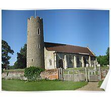 All Saints, Frostenden Poster