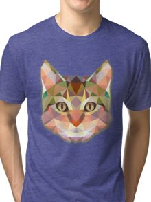 Animals Cat Gift Tri-blend T-Shirt